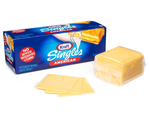Boxed.com : Kraft Singles American Cheese 96 Slices