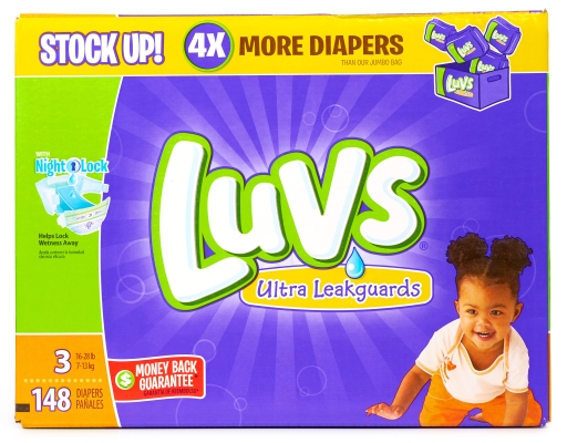Boxed.com : Luvs 148 Diapers - Size 3