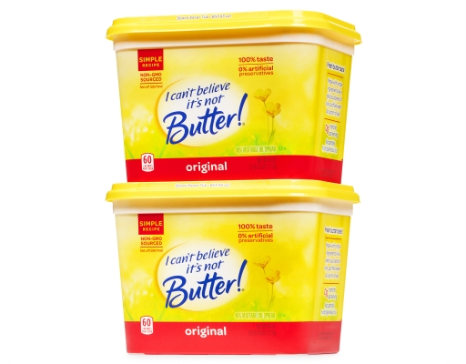 "Boxed.com : ""I can't believe it's not Butter"" Spread 2 x ..."