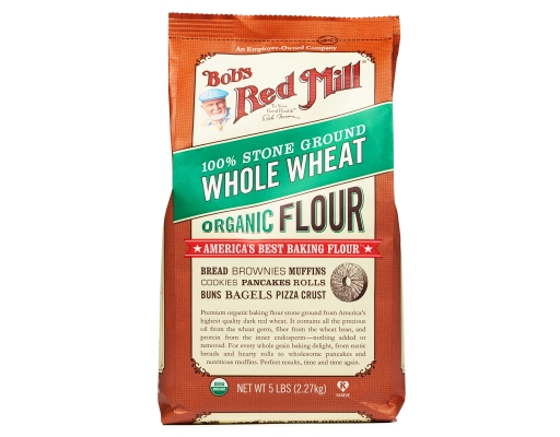 Boxed.com : Bob's Red Mill Whole Wheat Flour 5 lbs. - Organic