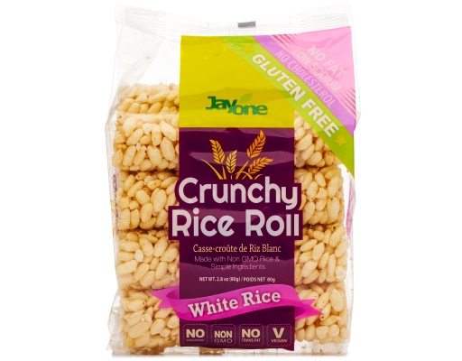 Boxed.com : Jayone Crunchy Rice Roll 4 x 2.8 oz. - White Rice