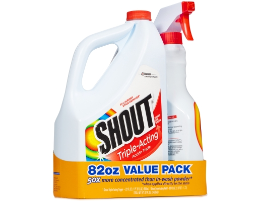 Boxed Com Shout Laundry Stain Remover 82 Oz Triple Acting