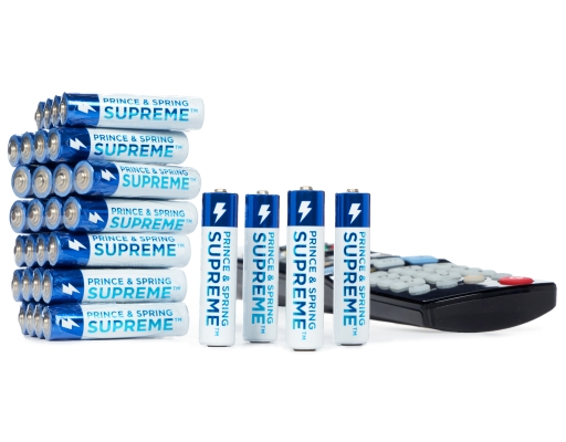 Prince Amp Spring Aaa Supreme Batteries 32 Count Superior