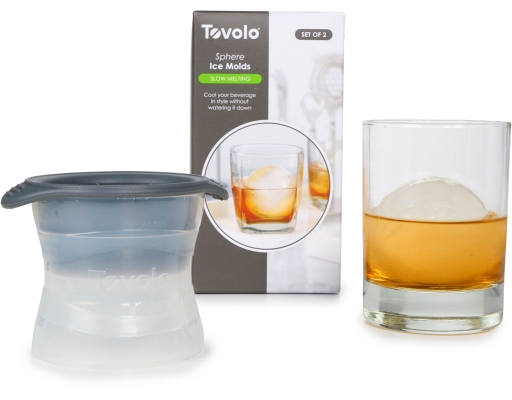 tovolo sphere ice molds how to use
