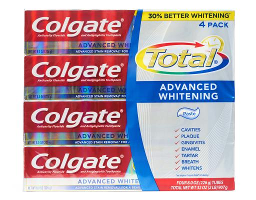Total Advanced Whitening Toothpaste