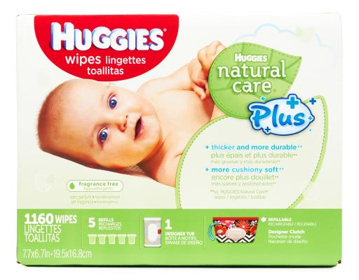 Natural Care Plus Wipes
