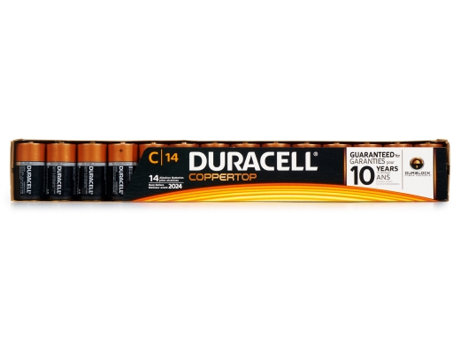 Boxed Com Duracell 9v Batteries 8 Count