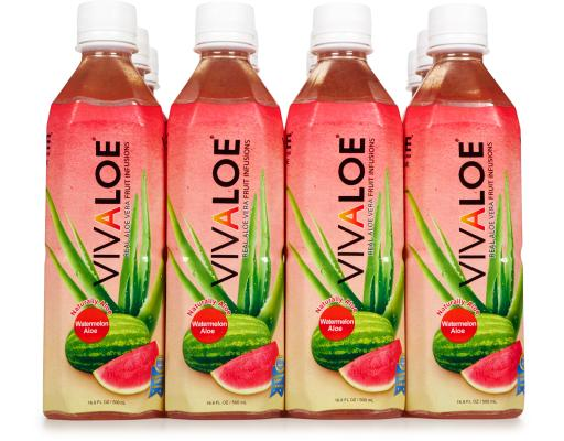 Real Aloe Vera Fruit Infusions